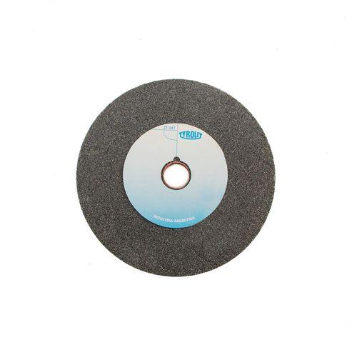 Piedra Rueda con Chanfle Oxido de Aluminio Gris - Tyrolit