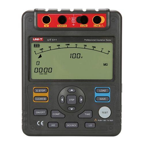 Megohmetro Medidor Aislación 100/1000V 10Gohm - Uni-T