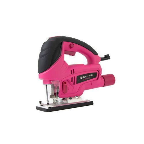 Sierra Caladora Rosa 800W Salkor SKPR800 Pink