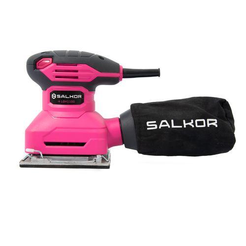 Lijadora Orbital Rosa 115x110 250W Salkor LOHR1100 Pink